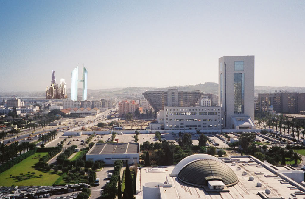Grad Tunis – noviji deo grada